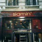 Décor façade en trompe-l'œil, restaurant rue Bayard Paris